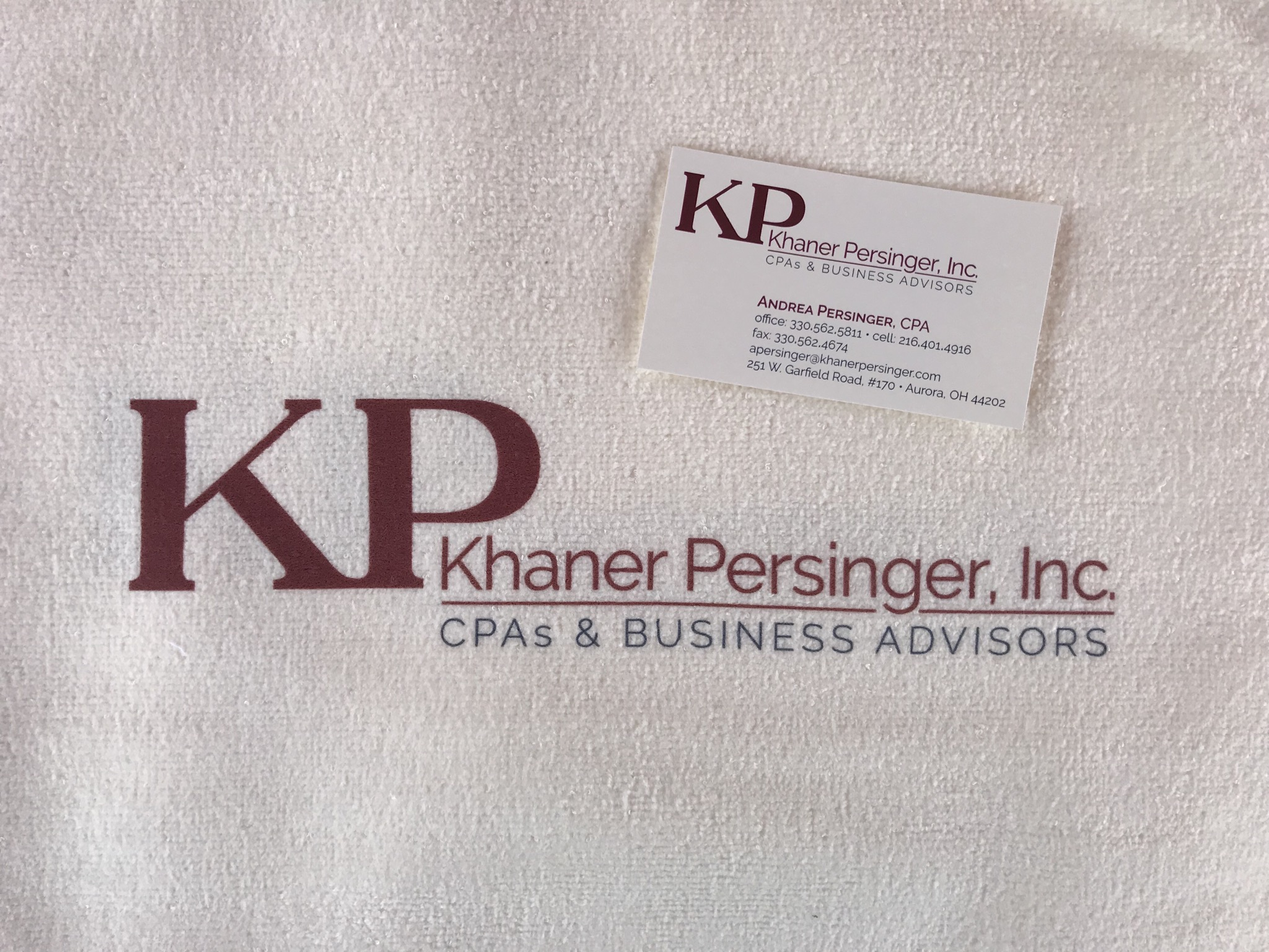 Beautiful and HOT day at Boulder Creek Golf Club representing Khaner Persinger, Inc! Aurora Chamber of Commerce members and guests were able to take a chance and chip shot for cool KP swag. Who's representing your brand?