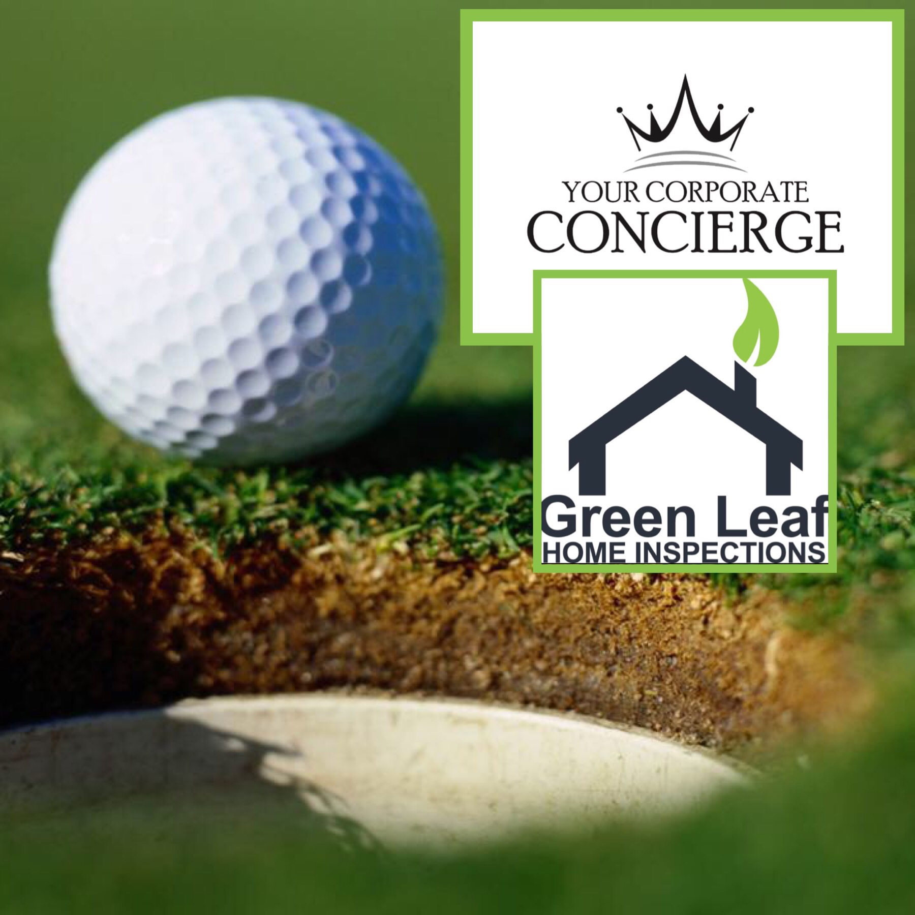 So excited to represent Green Leaf Home Inspections at the LGAAR Annual Golf Scramble 8/22/19. Need help lead generating at your hole sponsorship?