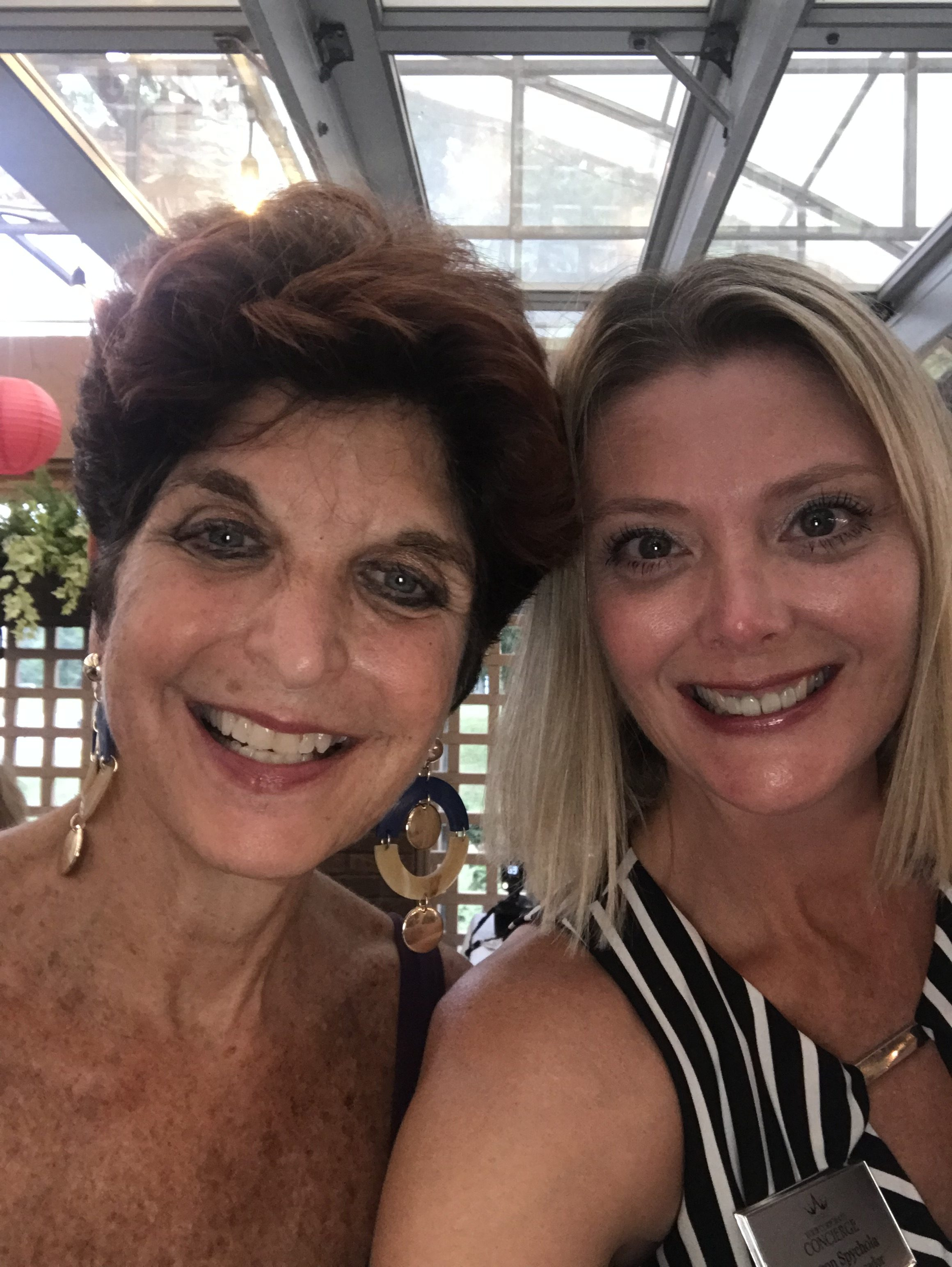 Attending the 2019 NAWBO Summer Soiree with some amazing female entrepreneurs.