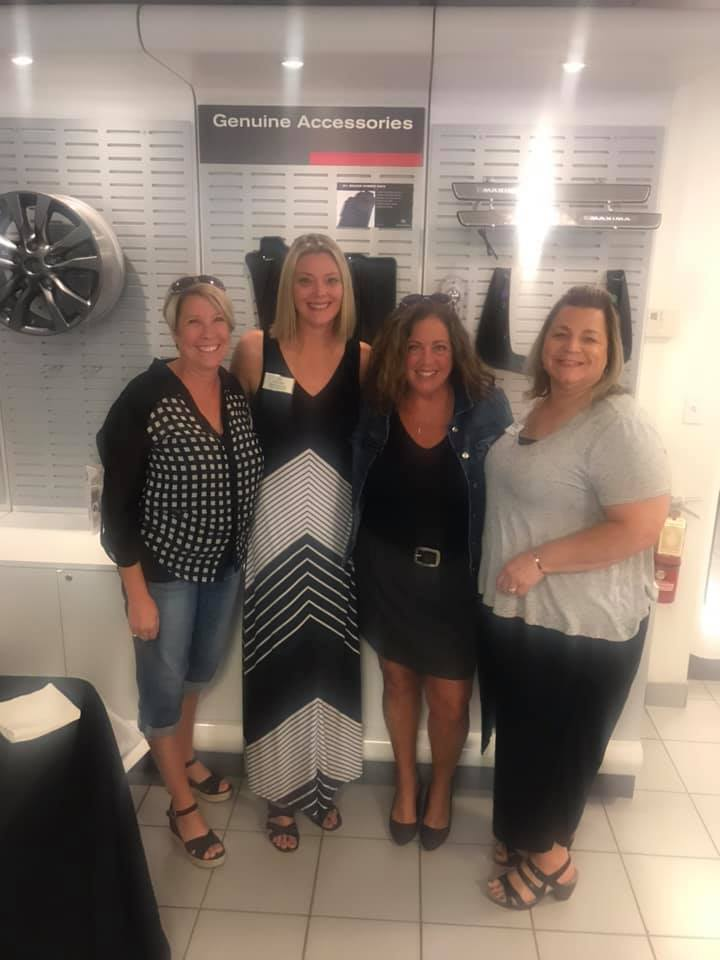 Fun evening of networking with my favorites from the Cuyahoga Falls Chamber Commerce and Fairlawn Area Chamber of Commerce at Nissan of Streetsboro.