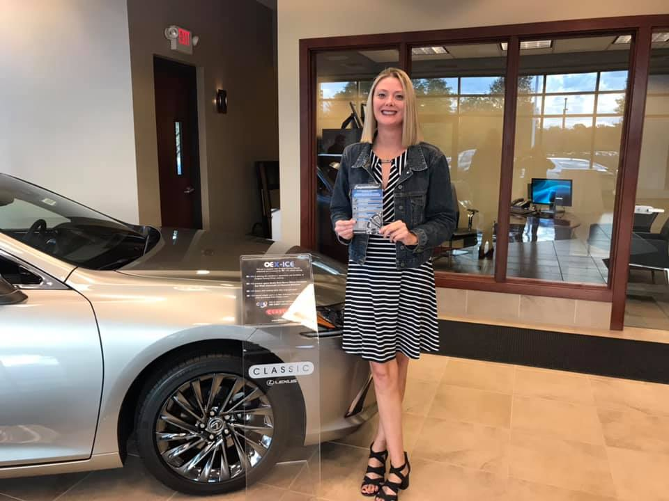 Fun night representing OE Exchange, LLC at Classic Lexus's Customer Appreciation Night where we GAVE AWAY a custom set of wheels.