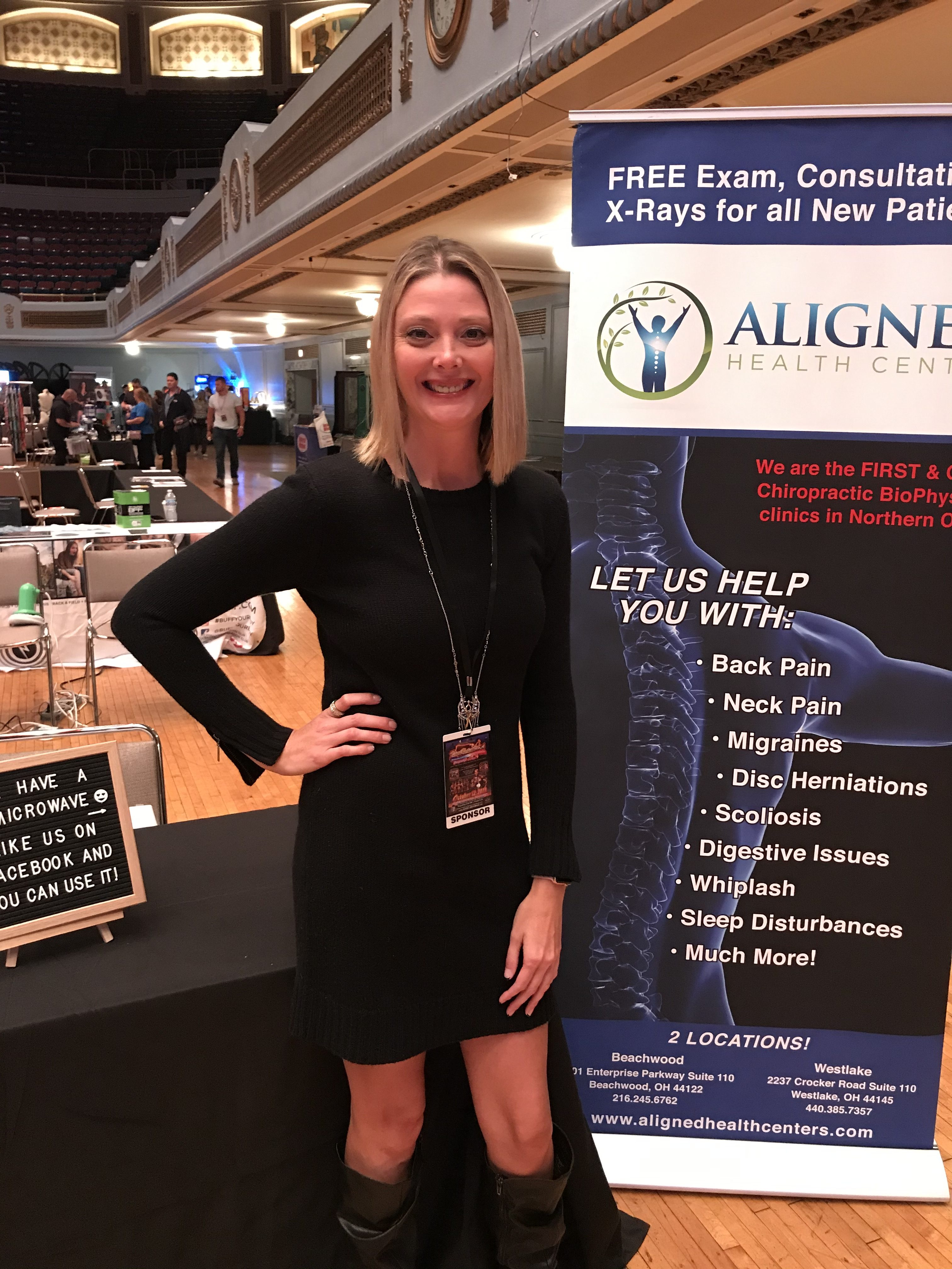 So excited to say I worked at my first body building competition! I had the opportunity to represent Aligned Health Center at the 2019 Natural Northern USA Championship and Expo. What amazing dedication!!