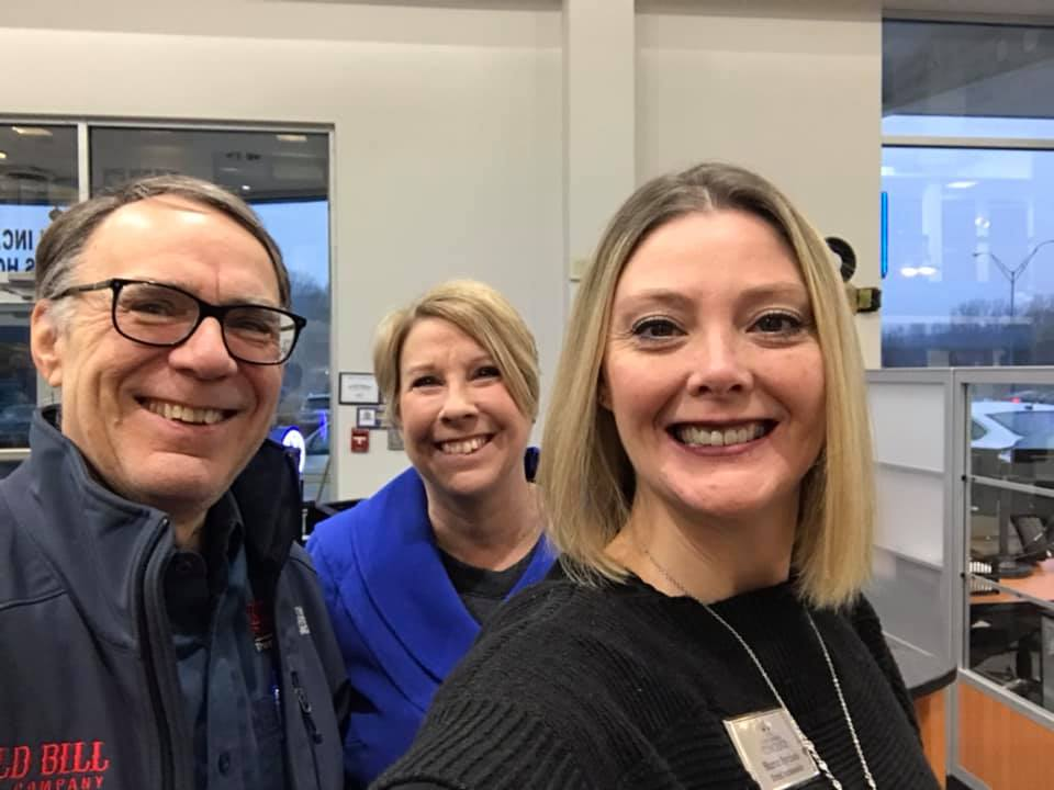 First networking event of 2020 at Great Lakes Honda! Looking forward to a great year!