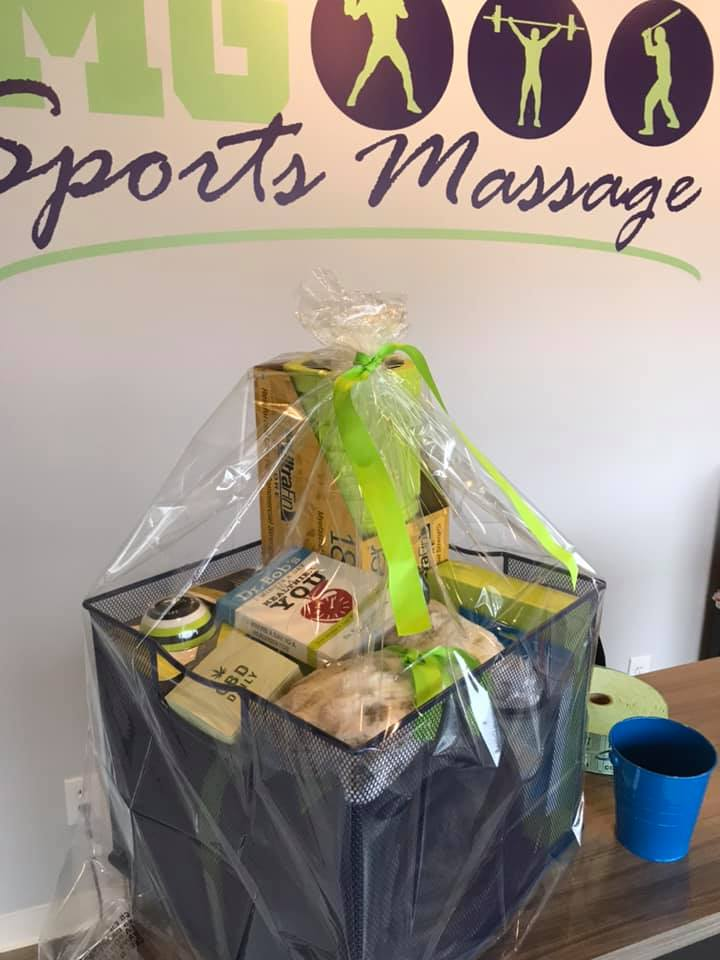 So happy to help Maricel with MG Sports Massage at the Open House of their new location in Rocky River.  Congratulations!  Looking forward to representing MG Sports Massage in 2020!