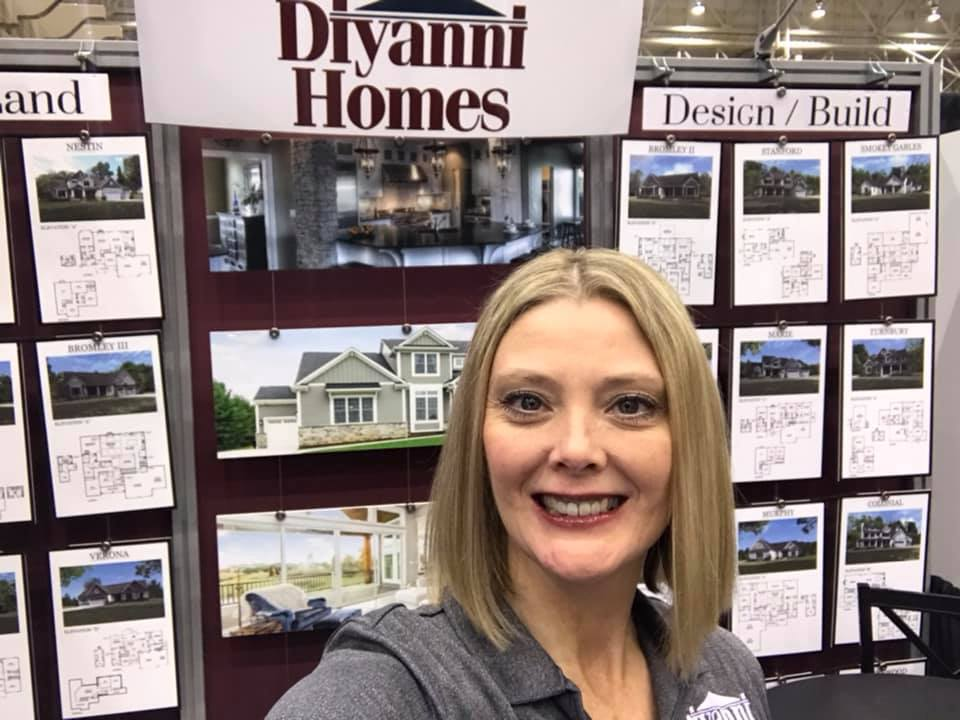 So excited to represent Diyanni Homes at The Great Big Home + Garden Show this weekend!  Stop and see your favorite Brand Ambassador!