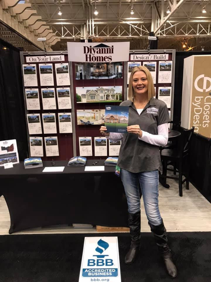 Looking forward to another day as the Brand Ambassador for Diyanni Homes at The Great Big Home + Garden Show!  Come see me at booth 1299C!