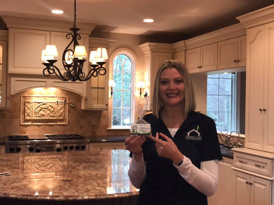 Great day to deliver goodies to realtors on Broker's Tour for Green Leaf Home Inspections.  There are some beautiful homes on the market!