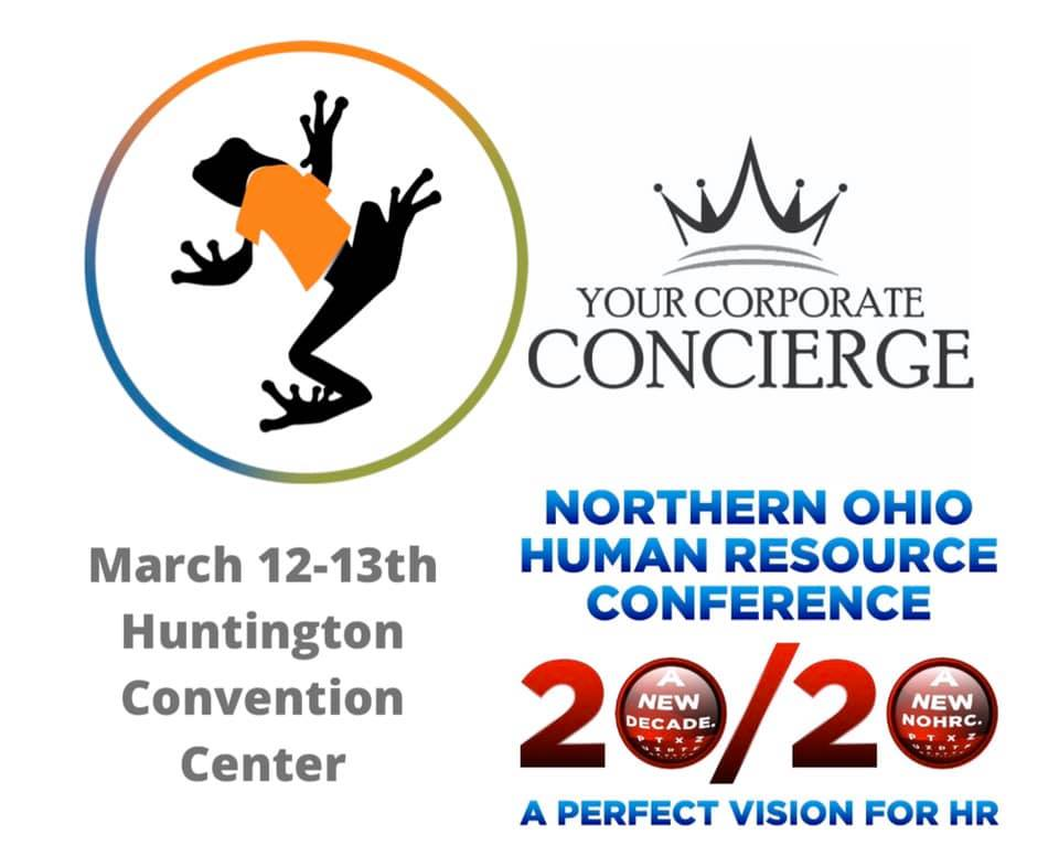 Catch me as Brand Ambassador for Big Frog Custom T-Shirts & More of Solon at the Northern Ohio Human Resource Conference 20/20. Can't wait to compete to win most engaging booth!!