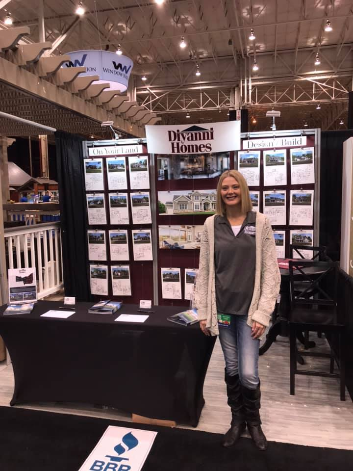Stop up and see your favorite Brand Ambassador at the Diyanni Homes booth, 1299C!  Let's talk about building your dream home.
