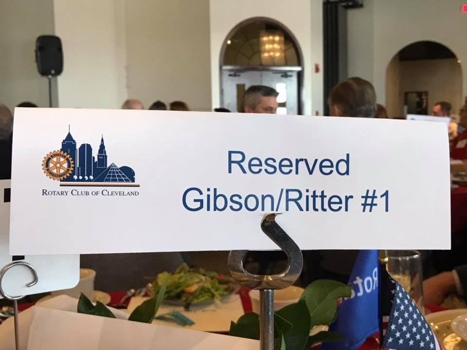 Thanks Paul Qua for the invite to The Rotary Club of Cleveland​ luncheon. Congratulations Cleveland Cultural Gardens​ for receiving the International Service Award. Looking forward to visiting this summer
