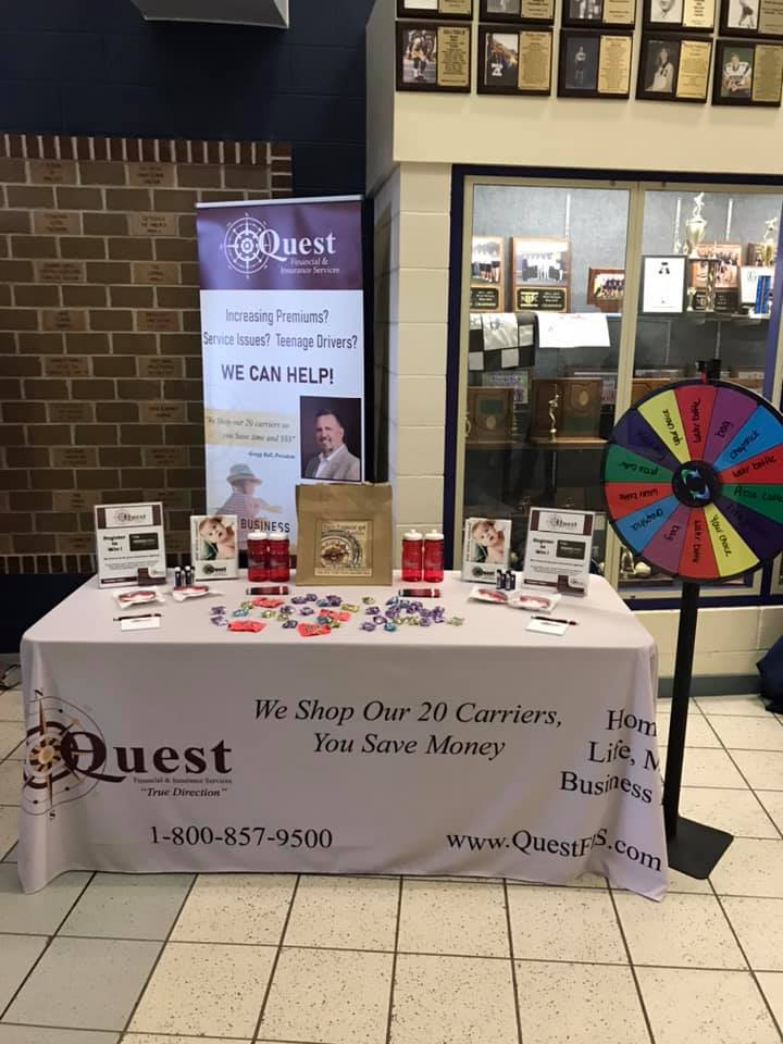 Wonderful day at the Twinsburg Community Expo for Your Corporate Concierge representing Quest Financial & Insurance Services.  Attendees had a fun experience and walked away with QFIS swag!