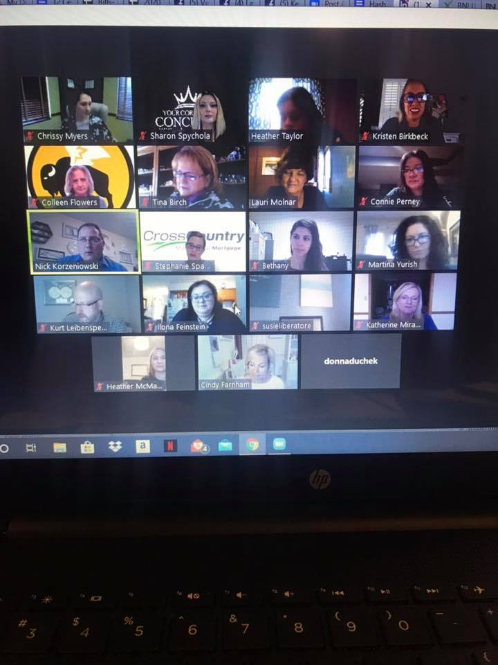 Great morning virtually networking withGABB (Greater Akron Business for Breakfast). Are you missing opportunities to promote your business? Reach out to you favorite VIRTUAL Brand Ambassador!