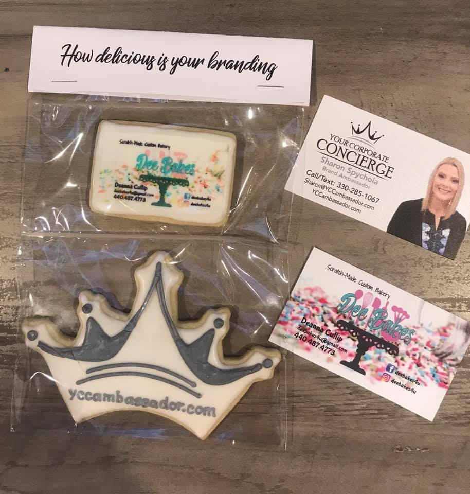 How delicious is your marketing? I'm going with, VERY! Dee Bakes, I'm so excited to work with you and share these amazing cookies. Do you have a marketing plan to reach your clients? Let's talk.