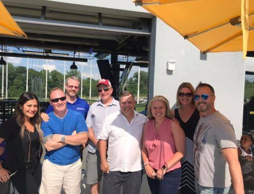 Networking at Top Golf Cleveland