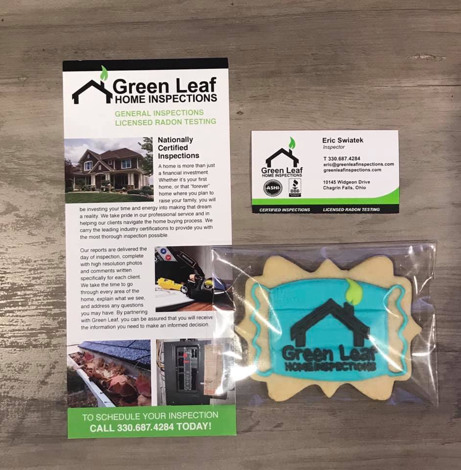 Absolutely amazing to get back out there for Green Leaf Home Inspections, LLC! How can a day be bad delivering cookies and getting puppy kisses from Sky?! Dee Bakes, you nailed it!! Who's representing you?