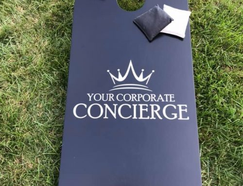 Loving the YCC cornhole boards!