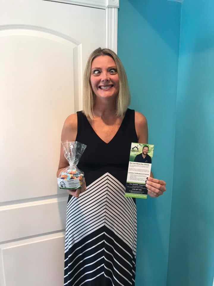 Great day out for Green Leaf Home Inspections visiting realtors in the CLE! Special thanks to my kiddo for the silly photo shoot. LOL. Who's representing you?