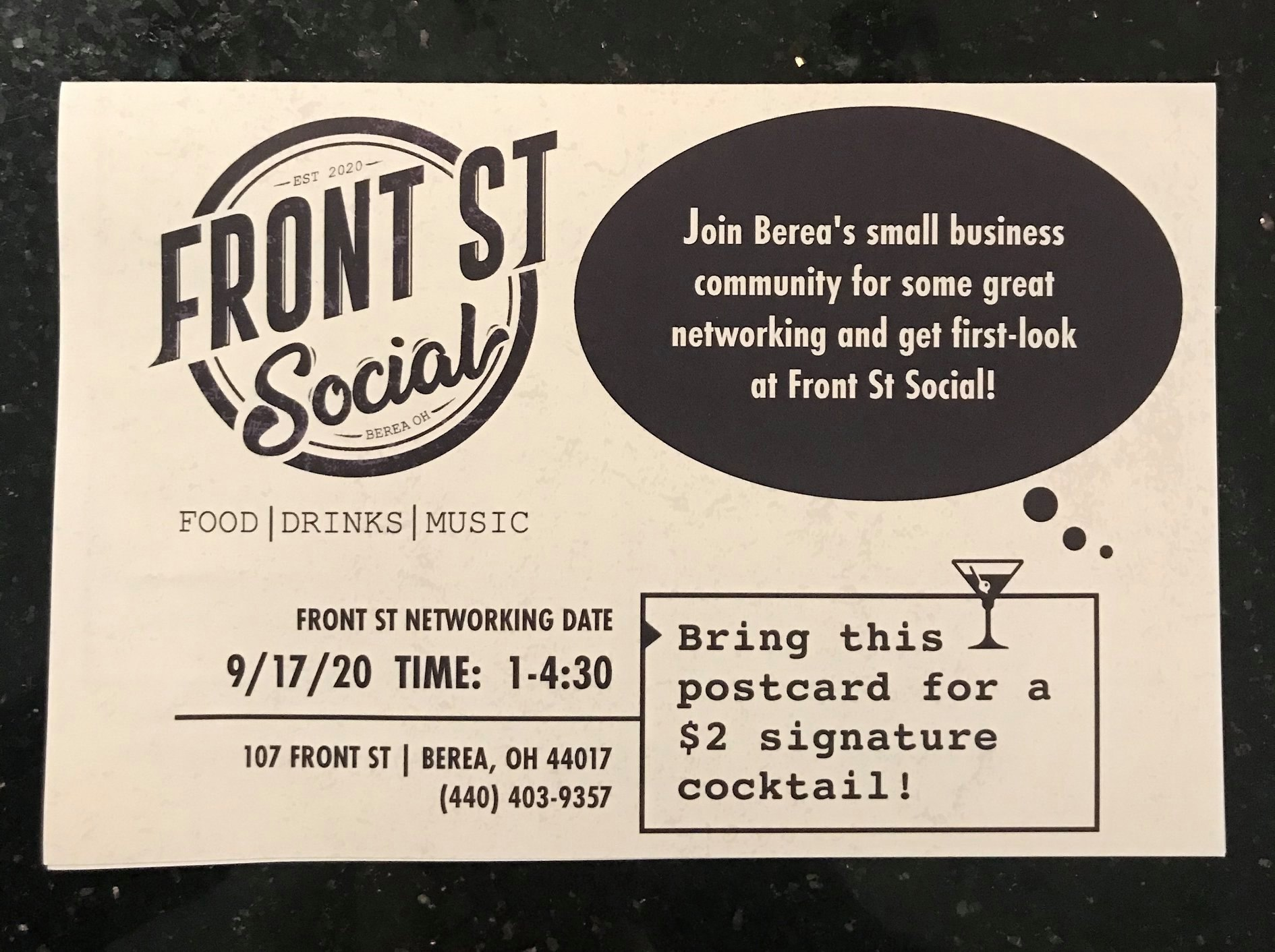 So excited to network with local Berea business professionals at Front St Social next week! This Brand Ambassador delivered over 100 invitations today Who's representing you?