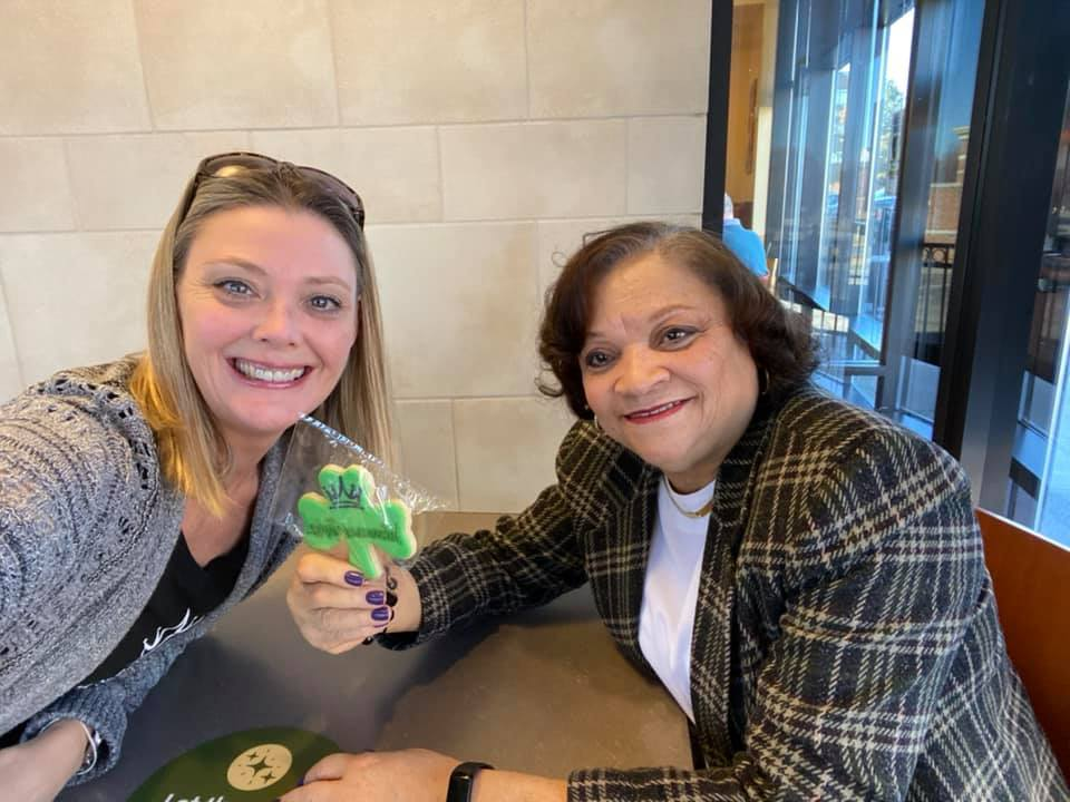 """So very thankful for the connections and support! All marketing meetings should be so """"sweet""""."""