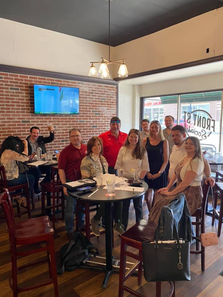 It was a beautiful day to be out networking with professionals from all over Northeast Ohio at Front St Social. Don't miss their next event!