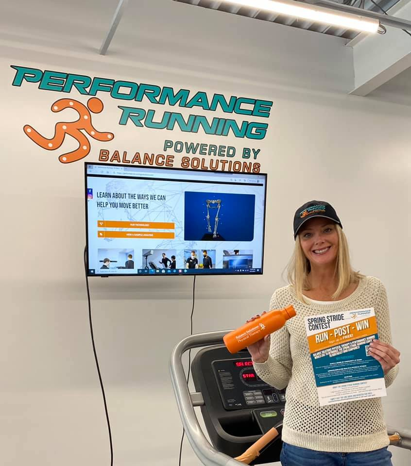 Of all days to get out there, it snows... It was still a great day to be the Brand Ambassador for Performance Running Solutions sharing all about the Spring Stride contest happening, RIGHT NOW!! Sign up to win cool prizes here 👉🏼 https://performancerunningsolutions.com/ — at Performance Running Solutions.