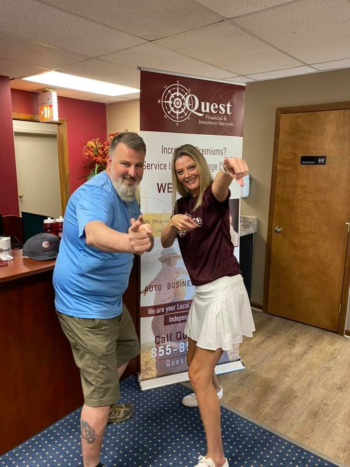 What a fantastic morning presenting to my BNI Chapter, Gateway to Success! Thank you Gregg and Quest Financial & Insurance Services for allowing me to set up, present, and be your Brand Ambassador at every event. Want to learn more about our services? Keep clicking!