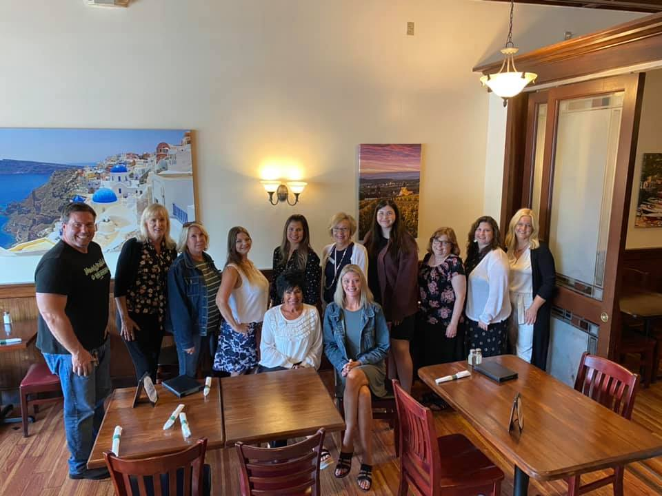 The Knitting for Cancer team was out representing with the Twinsburg Chamber of Commerce women in networking group. As new members, we look forward to sharing our mission and getting the word out for our cancer warriors.