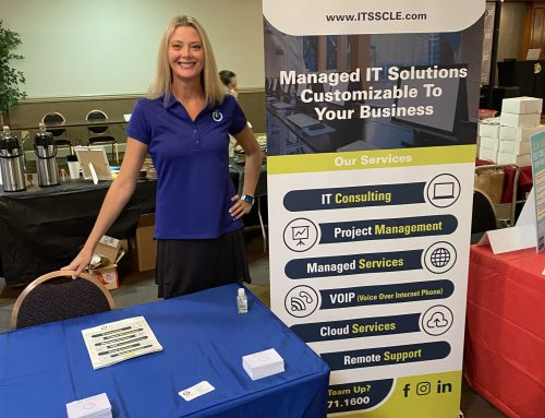 Representing IT Support Specialists at North Coast Business Expo