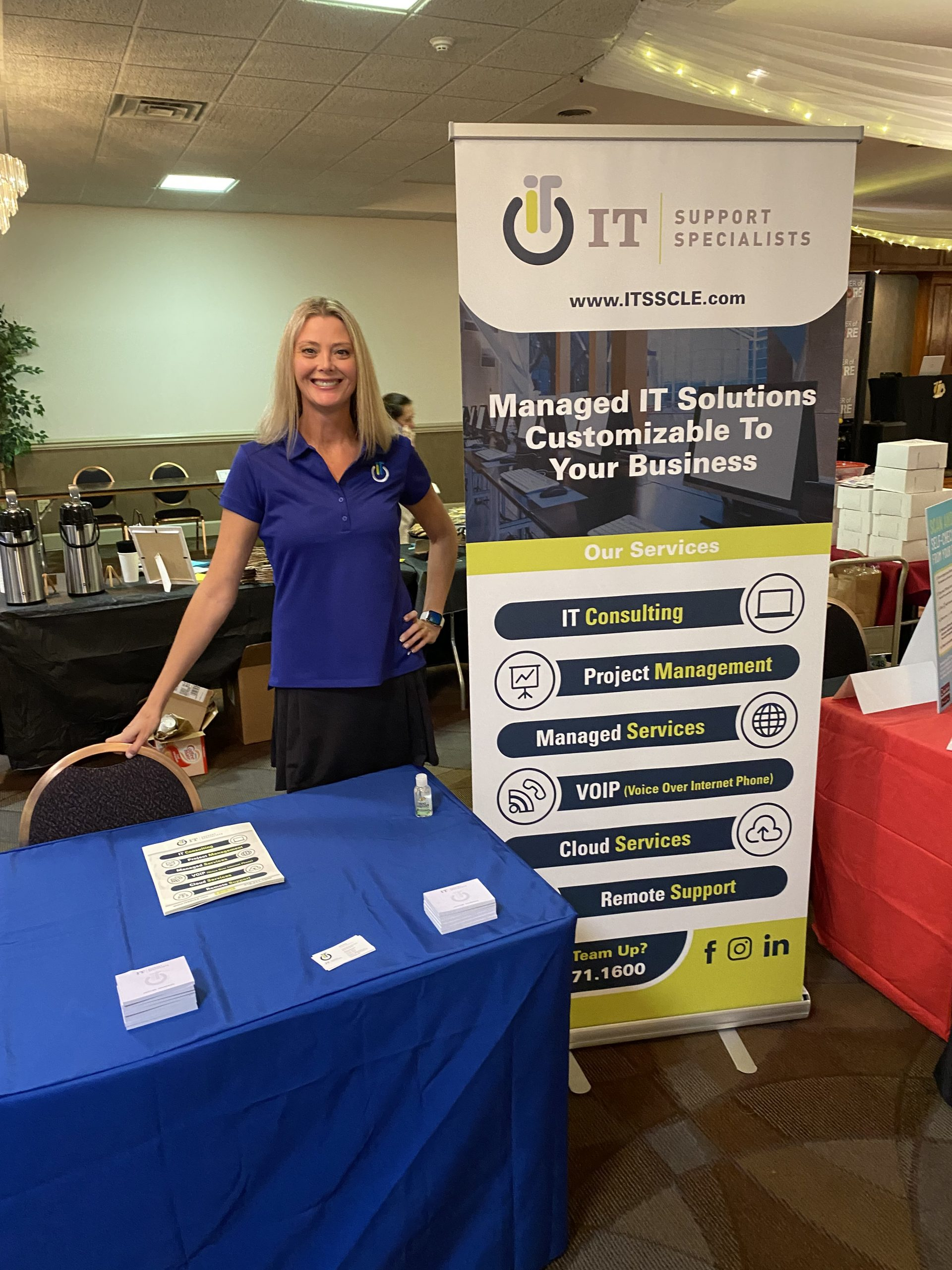 What a fantastic event the Power of More and North Coast Chamber of Commerce put on for the 8th Annual North Coast Business Expo. This Brand Ambassador was able to connect with vendors and attendees for IT Support Specialists Berea. Looking forward to the next event for ITSS in August!