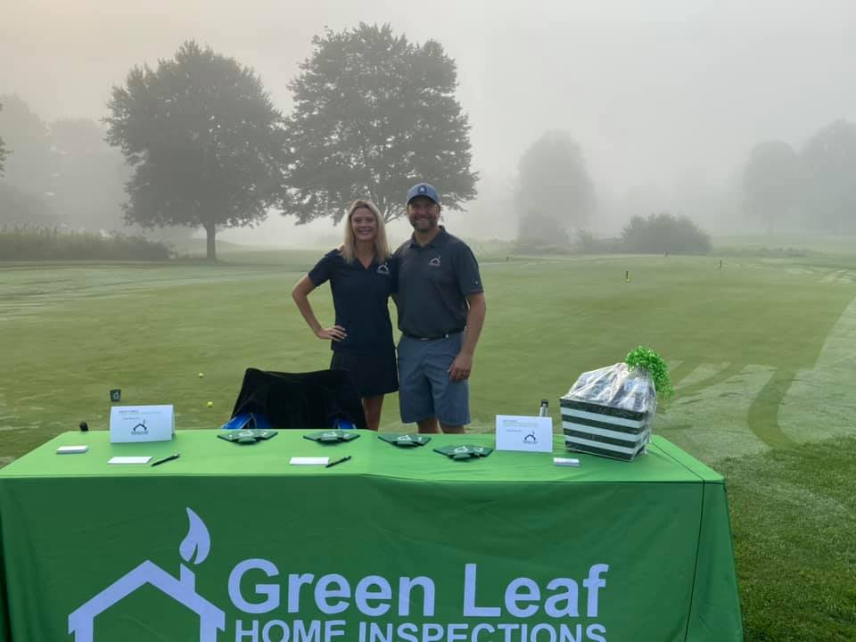 The rescheduled 2021 LGAAR Golf Scramble was a HIT and HOT!! This Brand Ambassador represented Green Leaf Home Inspections as the Putting Green sponsor. Attendees had fun taking a chance to win a Woodson Whiskey basket and of course, Jell-O shots.