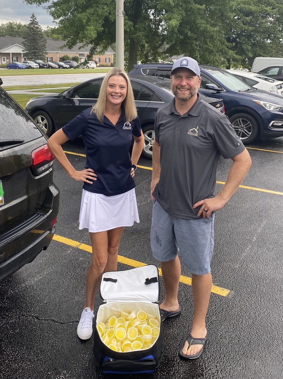 It's the first cancellation thanks to Mother Nature. The Green Leaf Home Inspections team was ready to make some connections this morning at the 2021 LGAAR Golf Scramble. We can't wait to see you when it's rescheduled!