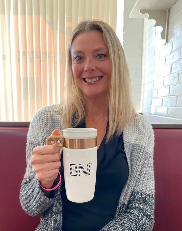 It's always great to get recognized for working hard and introducing others to BNI. BNI has done great things for the growth of YCC. Winning a cool mug is just a bonus.