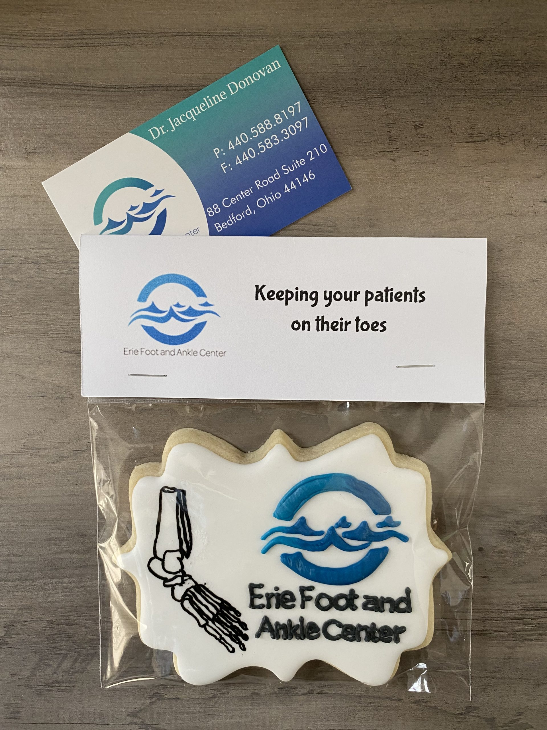 It was another great day delivering marketing info to Podiatrists for Erie Foot and Ankle Center. This Brand Ambassador was able to bring some smiles to some gloomy faces.