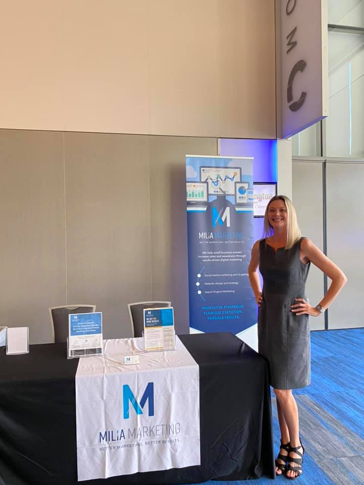What a fantastic start to the 2021 Customer Service Revolution! This Brand Ambassador is back at it representing Milia Marketing. Looking forward to two days of speakers and inspiration!