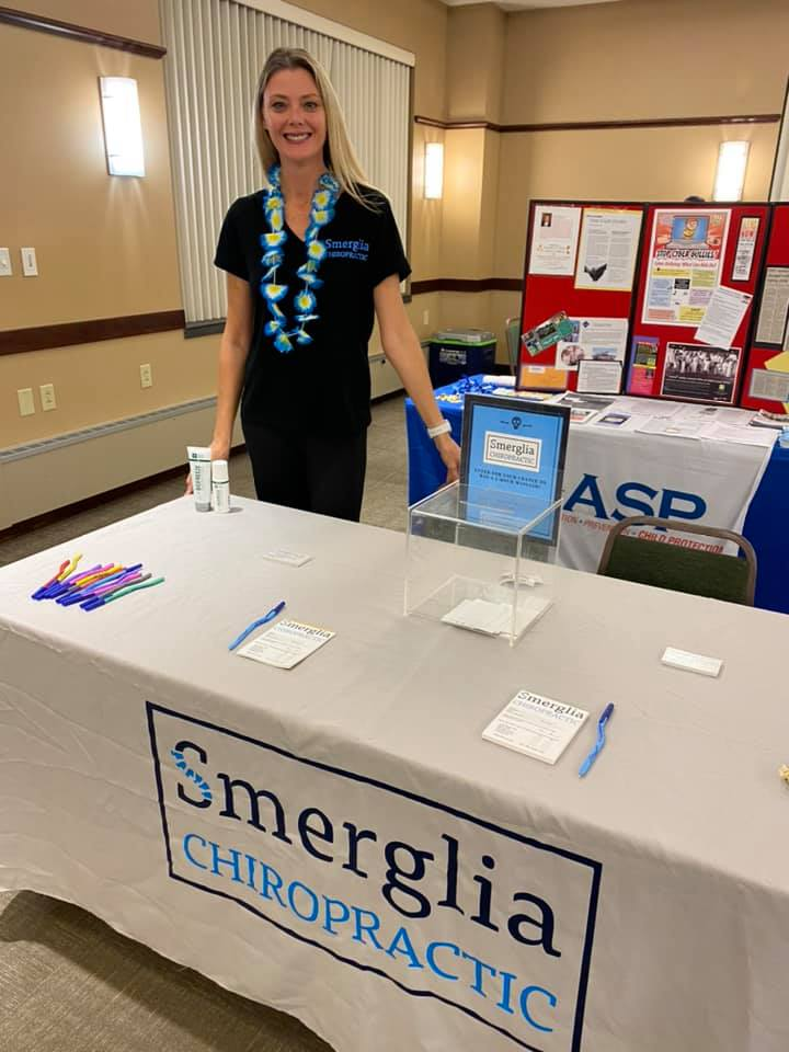 It was great to get back to being the Brand Ambassador for Smerglia Chiropractic! The City of Cuyahoga Falls Employee Health Fair was a success. I was able to connect with dozens of employees and vendors on behalf of SC. Who's connecting you?