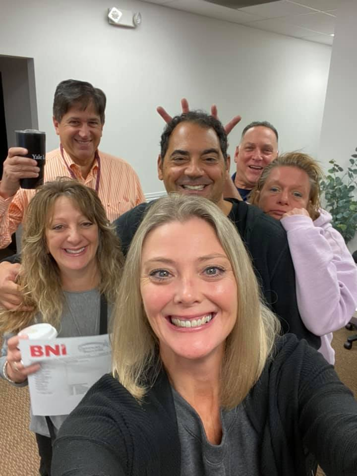 I just love starting my day with the Gateway to Success Chapter of BNI. Who's in your room?